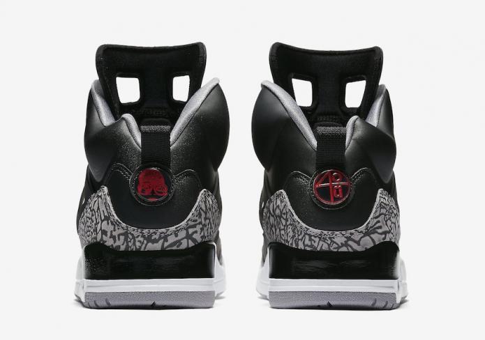 sports shoes b4772 a7d93 Jordan Spizike Black Cement - KicksOnFire.com
