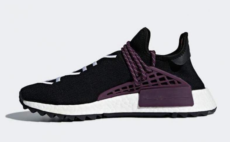 5f9f7831dca79 Pharrell x adidas NMD Hu Trail Holi Black - KicksOnFire.com