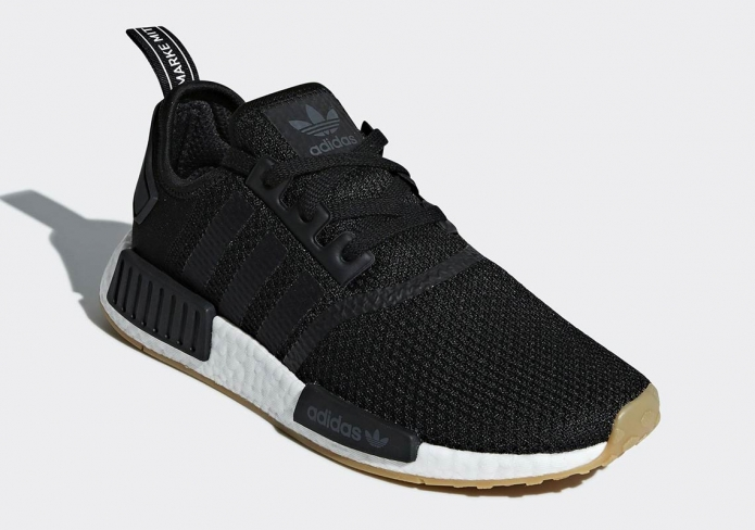adidas NMD R1 Gum Sole Core Black - KicksOnFire.com 88b9cd000