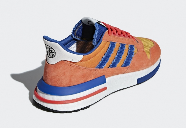hot sale online fe38e f1a7b Dragon Ball Z x adidas ZX 500 RM Son Goku - KicksOnFire.com