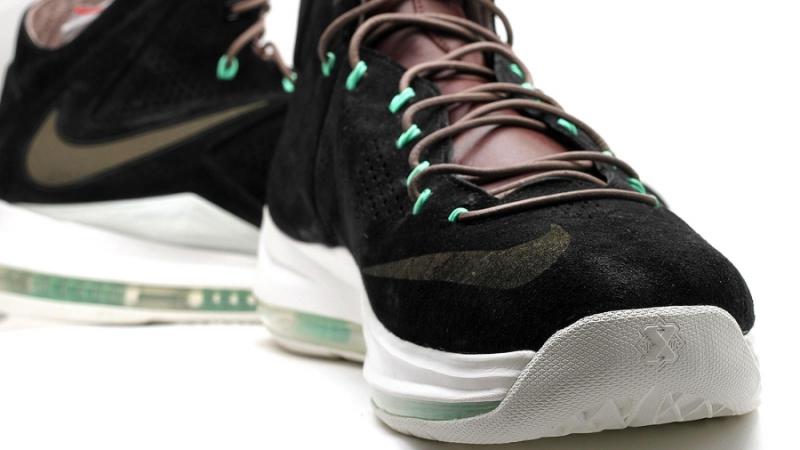 db69bf4d26c1e9 Nike LeBron 10 EXT QS - Black Suede - KicksOnFire.com