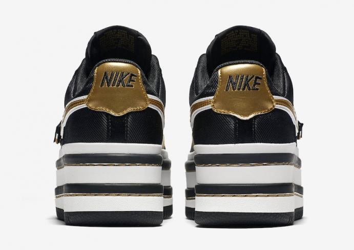the latest 89ea0 1c5f2 Nike WMNS Vandal 2K Black Metallic Gold - KicksOnFire.com