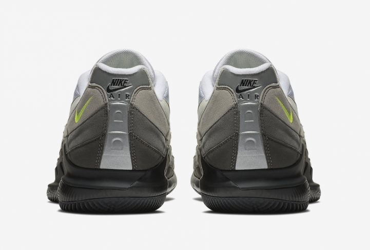 outlet store sale eb4b8 b8fcc NikeCourt Vapor RF x Air Max 95 Neon. Buy Now From 351