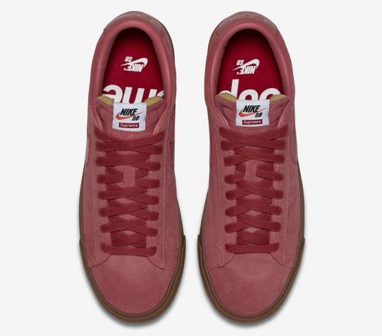 43d0d89ece2 Supreme x Nike SB Blazer Low GT - Bloom - KicksOnFire.com