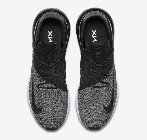 reputable site 10689 63ecb Nike Air Max 270 Flyknit Oreo
