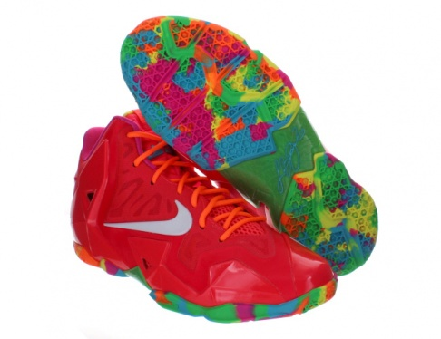 Nike Lebron 11 GS - Fruity Pebbles - KicksOnFire.com 9c7f19683