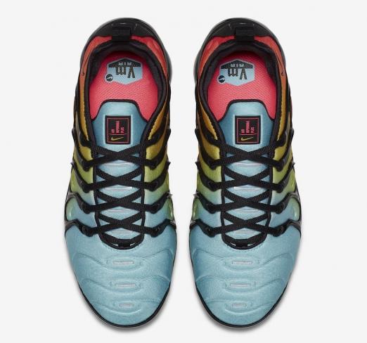 4011d5207ef Nike WMNS Air VaporMax Plus Bleached Aqua - KicksOnFire.com