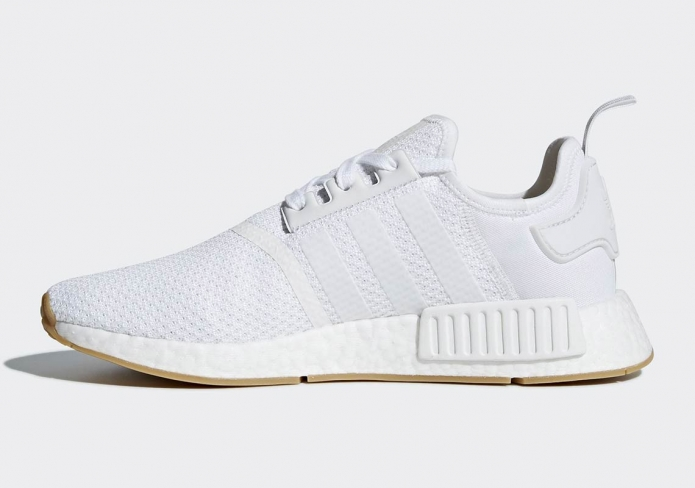the latest fd587 8a06c adidas NMD R1 Gum Sole Cloud White - KicksOnFire.com