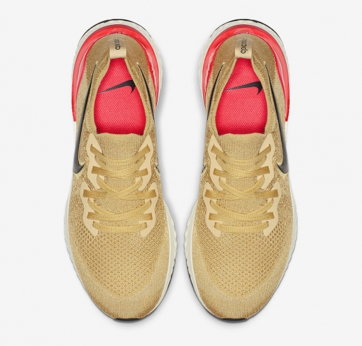69b9b58dea837a Nike Epic React Flyknit 2 Club Gold. Buy Now From  208