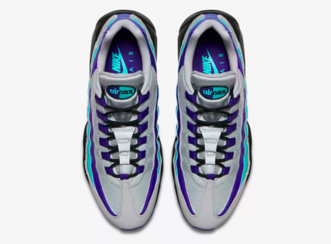 hot sale online 884a5 0a11c Nike Air Max 95 OG Aqua Wolf Grey - KicksOnFire.com