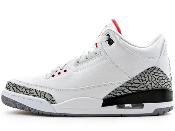 san francisco 9e03e aa1b9 Air Jordan 3 White Cement 2011 - KicksOnFire.com