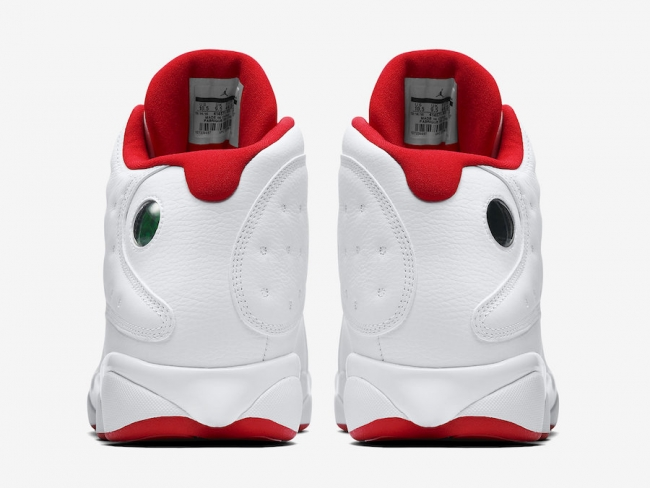 wholesale dealer cadb1 61206 ... wholesale air jordan 13 hvit ekte rød svart blonder v36yu 28e52 8e670