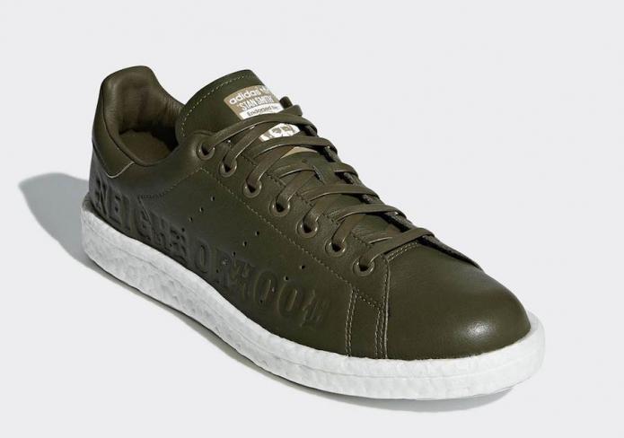 1f6afb28fa3a Neighborhood x adidas Stan Smith Boost - KicksOnFire.com
