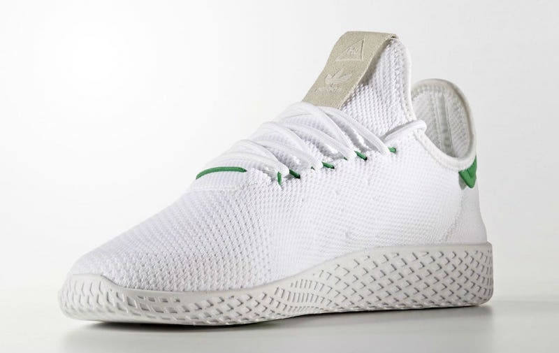46009cf87 Pharrell x adidas Tennis Hu White Green - KicksOnFire.com
