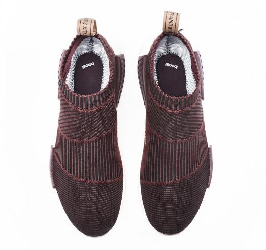 Sneakersnstuff x adidas NMD City Sock Gore Tex Dark Burgundy ... 7a79879db