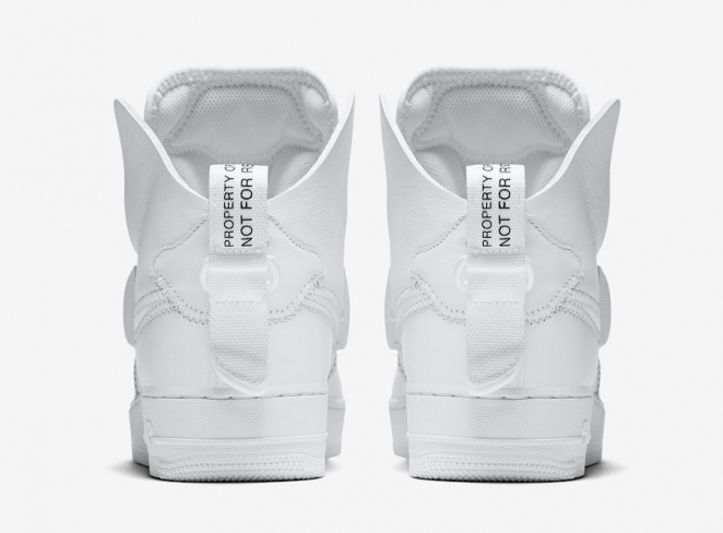 best service ac4d0 99150 PSNY x Nike Air Force 1 High White - KicksOnFire.com