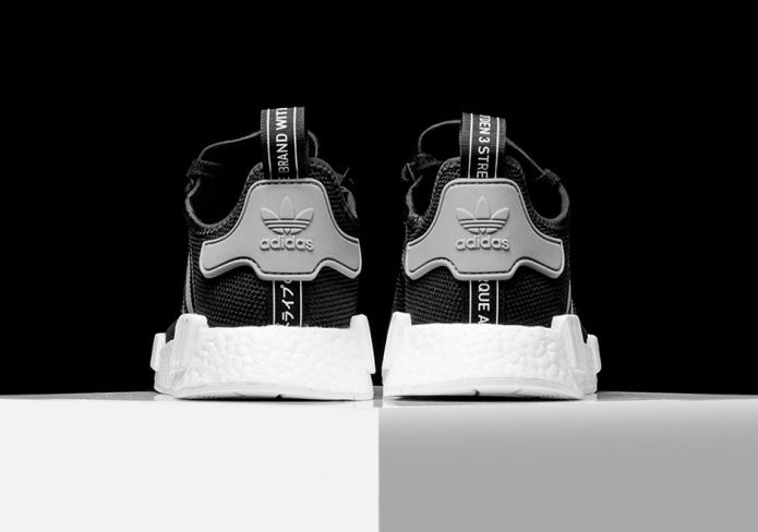 Adidas Nmd Malla R1 Carbón Negro C209W