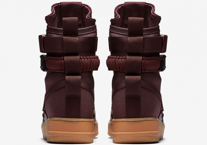 Nike Special Field Air Force 1 High Deep Burgundy
