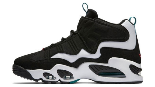 new style ac414 9462a Nike Air Griffey Max 1 White Freshwater - KicksOnFire.com