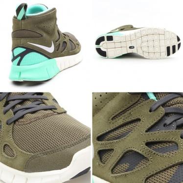 free shipping f042f cc066 Nike Free Run 2 Sneakerboot - Medium Olive