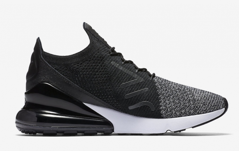 reputable site f45b2 449bc Nike Air Max 270 Flyknit Oreo