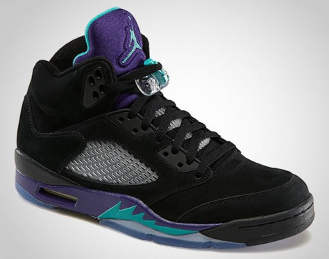 28a892e96a0a31 Air Jordan 5 - Black Grape - KicksOnFire.com
