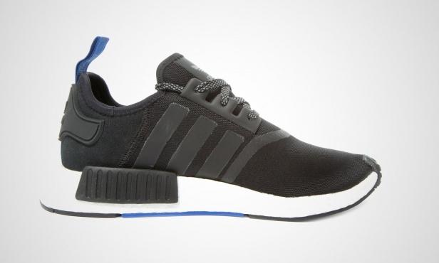 online store 54f40 a2d81 adidas NMD R1 Black Blue Tab - KicksOnFire.com