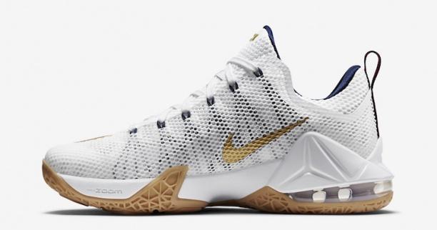 the best attitude 15095 e8bcb Nike LeBron 12 Low - USA - KicksOnFire.com