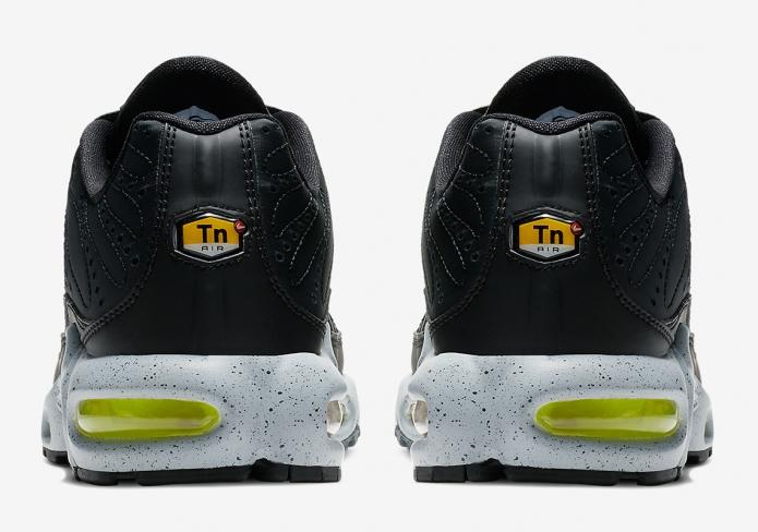 ed6298c8d1 Nike Air Max Plus Premium Black Matte Silver - KicksOnFire.com