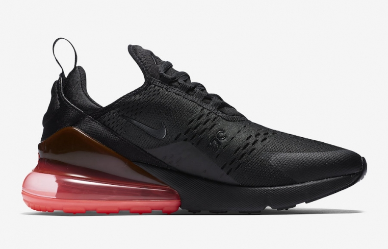 2018 Nike Air Max 270 Black and Photo Blue For Sale