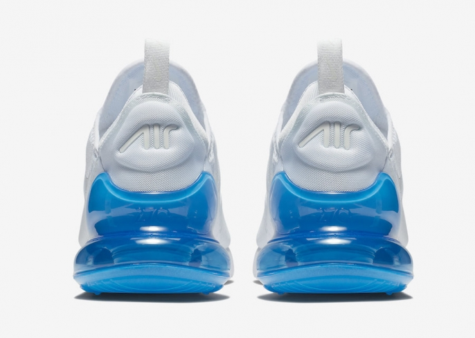 detailed look 562c9 7d6d7 Nike Air Max 270 White Photo Blue - KicksOnFire.com