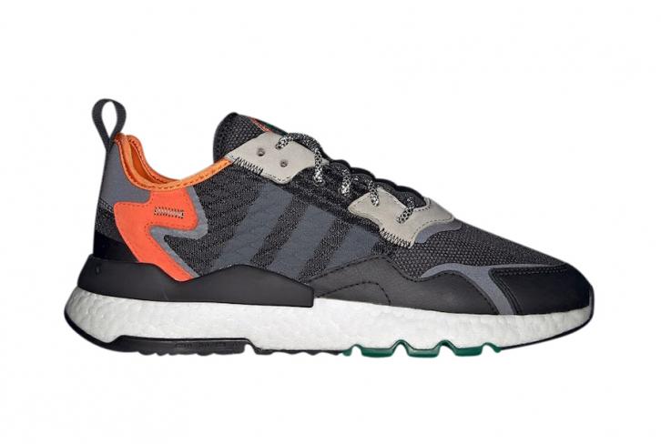 Adidas Nite Jogger Cordura Core Black Grey Six Kicksonfire Com