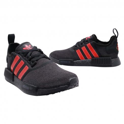 Adidas Nmd R1 Black Red Kicksonfire Com