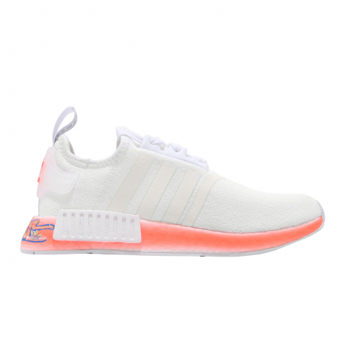 Adidas Nmd R1 Cloud White Orange Blue Kicksonfire Com