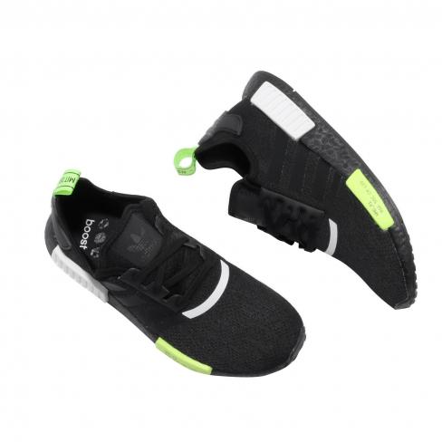 Adidas Nmd R1 Core Black Signal Green Kicksonfire Com