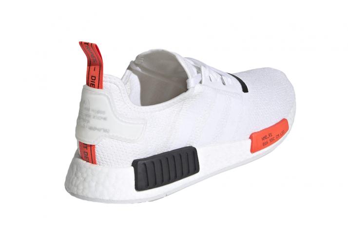 Adidas Nmd R1 White Solar Red Kicksonfire Com