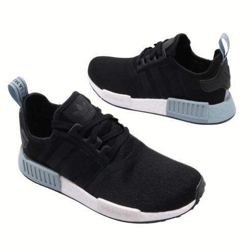 Adidas Wmns Nmd R1 Black Blue Kicksonfire Com