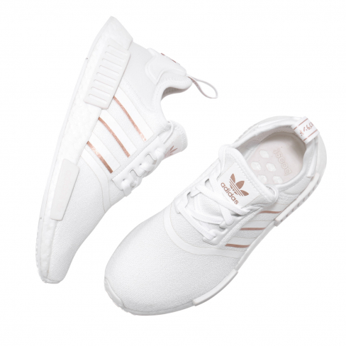 Adidas Wmns Nmd R1 Cloud White Rose Gold Metallic Kicksonfire Com