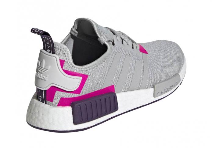Adidas Wmns Nmd R1 Grey Shock Pink Kicksonfire Com