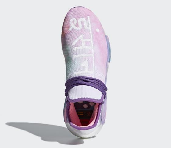 ce36f1ea4e394 Pharrell x adidas NMD Hu Trail Holi Pink Glow - KicksOnFire.com