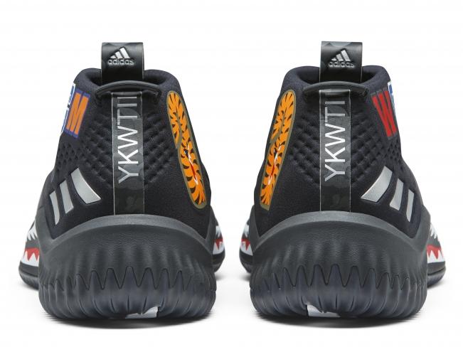 Bape x adidas Dame 4 Black Camo. Buy Now From  899 415383a90