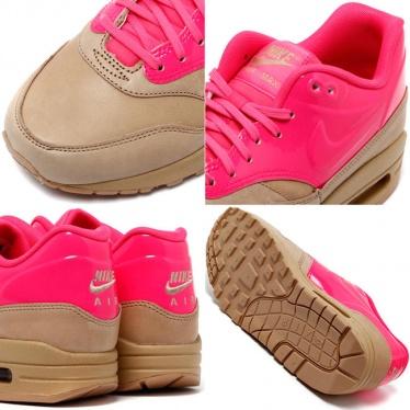 Nike Women's Air Max 1 VT QS Vachetta Tan Pink Flash