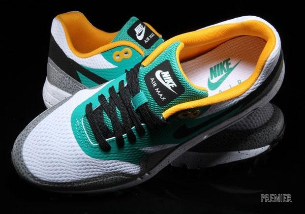 on sale 73bf2 00bcf Nike Air Max 1 Ultra Essential Emerald Green - KicksOnFire.com