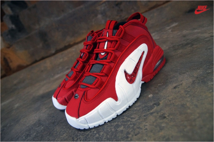 nike air max penny 1 university red\/black