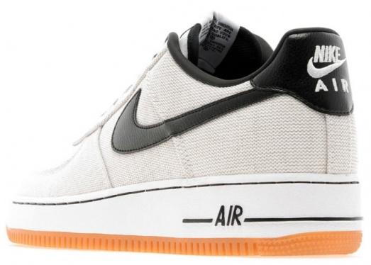 competitive price fdad2 9e880 Nike Air Force 1 Low - Canvas Gum (White   Black) - KicksOnFire.com