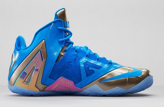 sports shoes 22fcb c04b8 Nike Lebron 11 Elite 3M Blue Hero - KicksOnFire.com