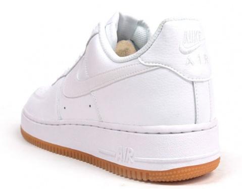 Acquire > air force 1 white gum bottom |