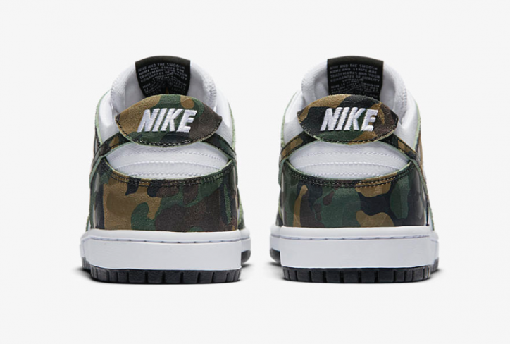 8ebe4d6618845 Nike SB Dunk Low Pro Camo Green - KicksOnFire.com