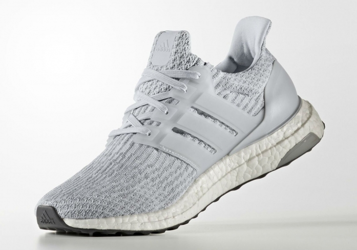 factory authentic d571a 6993f adidas Ultra Boost 3.0 Clear Grey - KicksOnFire.com