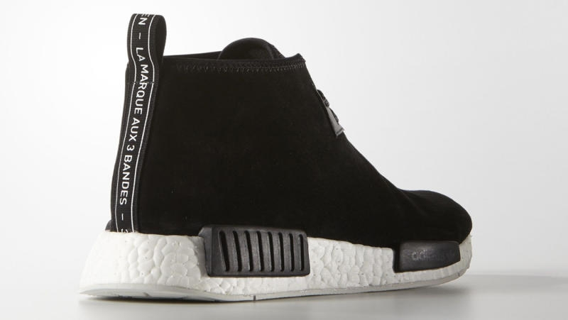 9ab4f6624439 adidas NMD Chukka - Black Suede - KicksOnFire.com